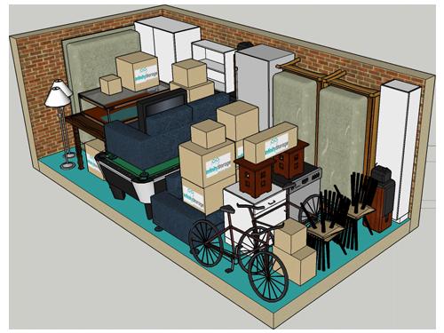 18m storage unit