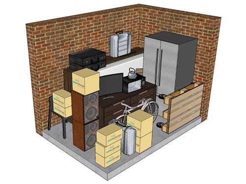 6m storage units