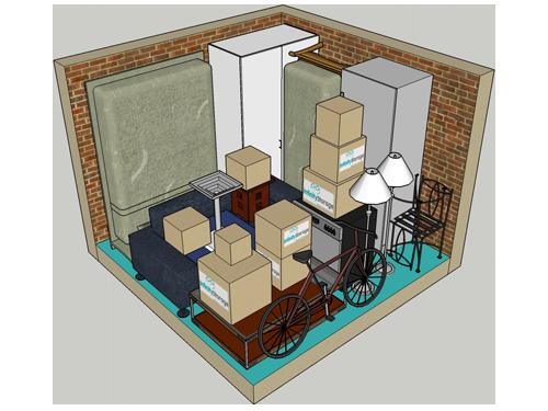 9m storage unit